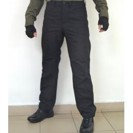 Тактические брюки модель BDU черные