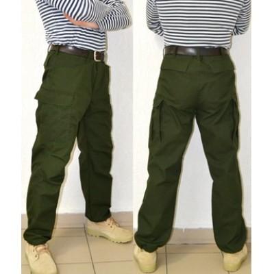 Тактические брюки модель BDU темнозеленые