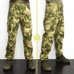 Тактические брюки модель BDU в расцветке A-Tacs FG ( мох )