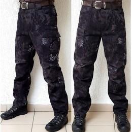 Тактические брюки модель BDU, питон-ночь