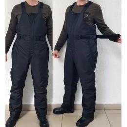 Полукомбинезон зимний «Хаски» до -30 (черный)