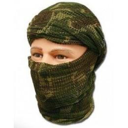 Шарф-сетка маскировочная, КАМО (кмф)