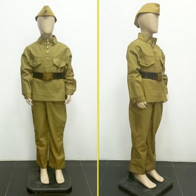 Военный костюм гимнастерка детская 100% хлопок