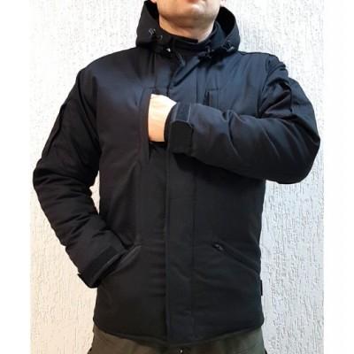 Куртка зимняя «Вьюга» Военград, цвет Черный
