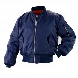 Куртка «Бомбер» Военград, демисезон, синяя