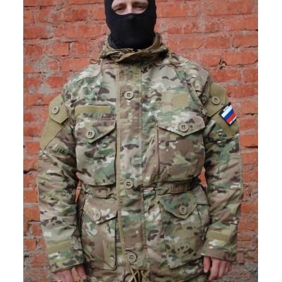 Куртка ГРУ ДЕМИСЕЗОННАЯ со съемной ФЛИСОВОЙ подкладкой MULTICAM