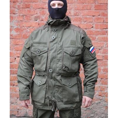 Куртка ГРУ ДЕМИСЕЗОННАЯ со съемной ФЛИСОВОЙ подкладкой OLIVE