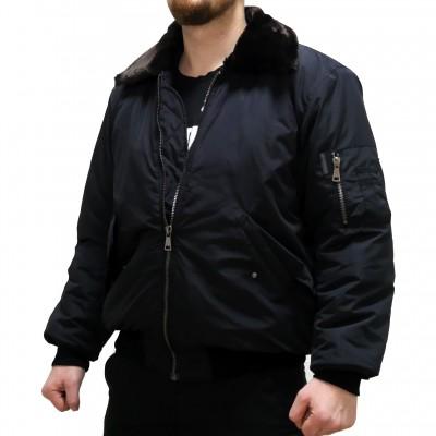 Куртка «Пилот» Военград, зима, черная