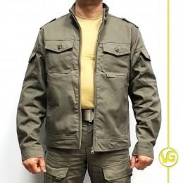 Куртка летняя VG Джут Винтаж, хаки