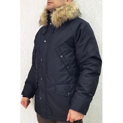 Зимняя куртка-парка «Хаски», Чёрная