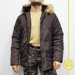 Зимняя куртка-парка «Хаски» , Brown (Коричневая)