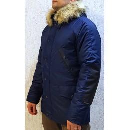 Зимняя куртка-парка «Хаски», Синяя
