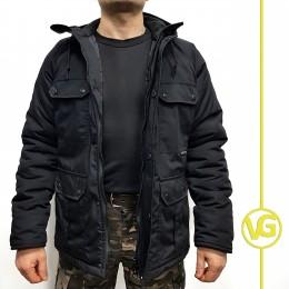 "Куртка зимняя ВГ в расцветке ""Black"",рип-стоп"