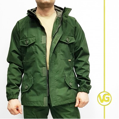 Летняя куртка – ветровка «Рейнджер», темнозеленая