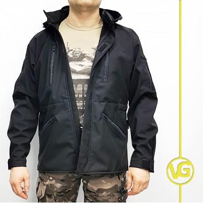 Куртка Военград «Штурм софтшелл», цвет Черный
