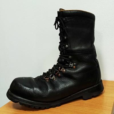 Ботинки тяжёлые Edelweiß Австрия, Чёрные, б/у