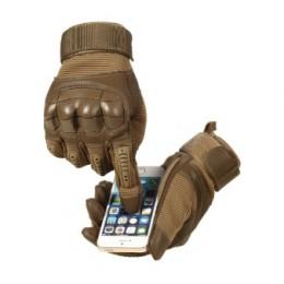 Тактические защитные перчатки  для охоты, стрельбы, страйкбол, сенсорный пейнтбол, койот