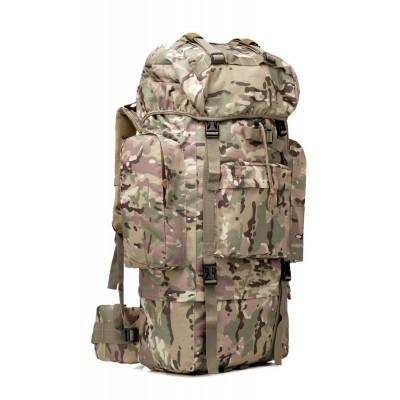 Многодневный рюкзак, станковый 75л, мультикам