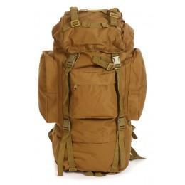 Многодневный рюкзак станковый, 75 л., койот