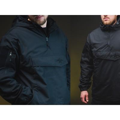 Куртка Анорак с влагостойкой пропиткой демисезон черна (Anorak Black)