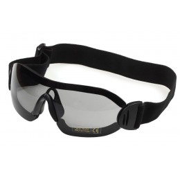 Страйкбольные очки, облегченные, чёрные