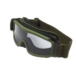 Тактические очки со прозрачным стеклом  Tactical glasses Olive