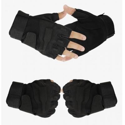 Перчатки Blackhawk беспалые, черные (Black)