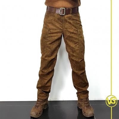 Тактические брюки модель BDU в расцветке Пин-Код коричневый