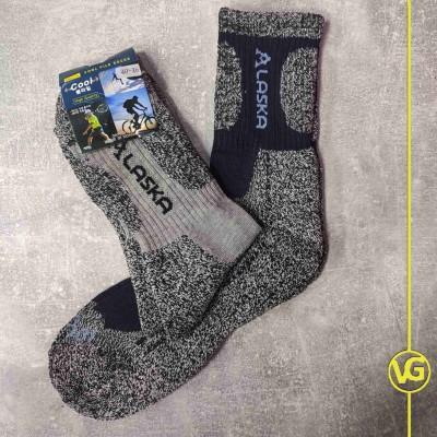 Термоноски Cool Pile Socks, размер 40-46 Alaska (серый узор)