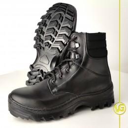 Ботинки хромовые M.229 (цвет чёрный)